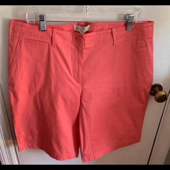 Talbots Pants - NBW NWT Talbots salmon/ coral colored shorts